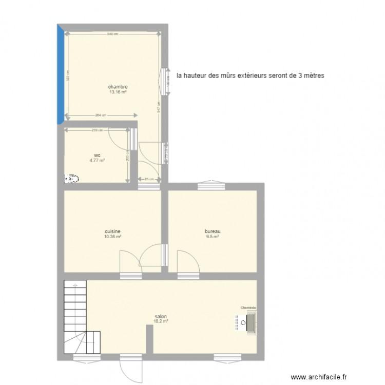Maison Projet D Agrandissement Plus Cotes Plan 5 Pi Ces