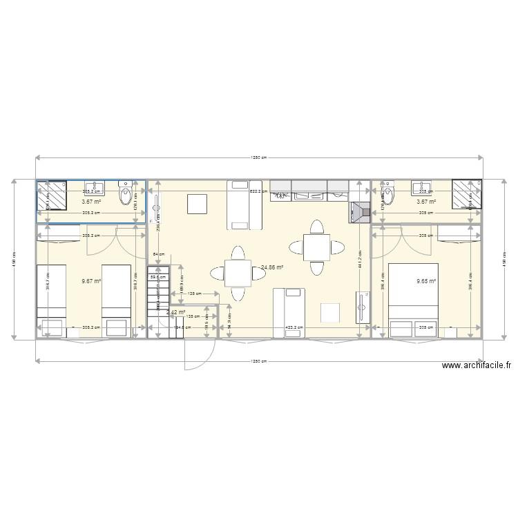 plan appartement 56m2