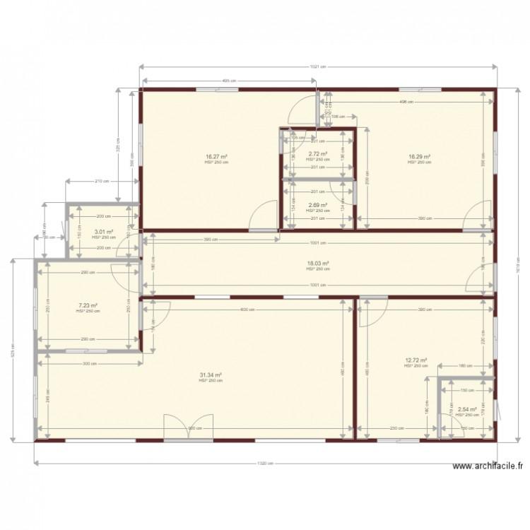 Plan de rena plan de 12 pi ces et 508 m2 - Plan de maison 2 pieces ...