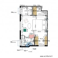 Plan projet 1 appartement MOLINARO