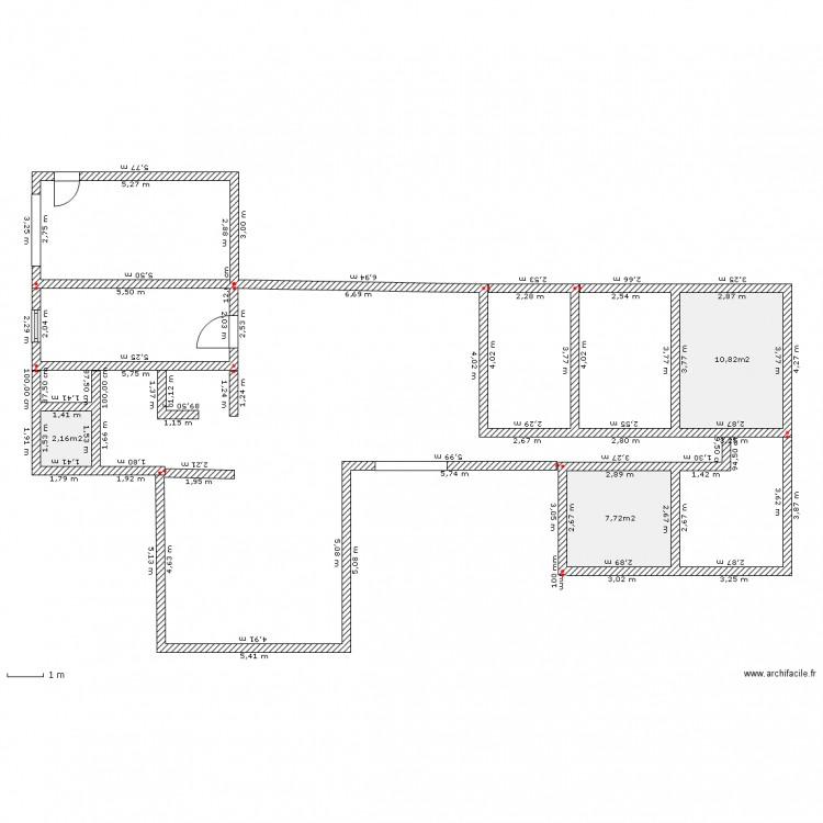 maison zen - Plan 3 pièces 21 m2 dessiné par SOFAILLE