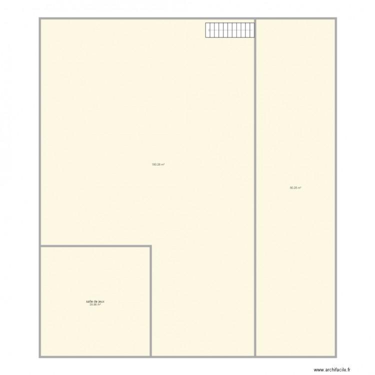 Atelier asc plan 11 pi ces 592 m2 dessin par maison st lo for 592 plan