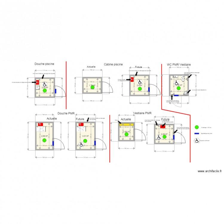 26800 portes les valence plan 8 pi ces 19 m2 dessin par nl prestations - Le loft portes les valence ...
