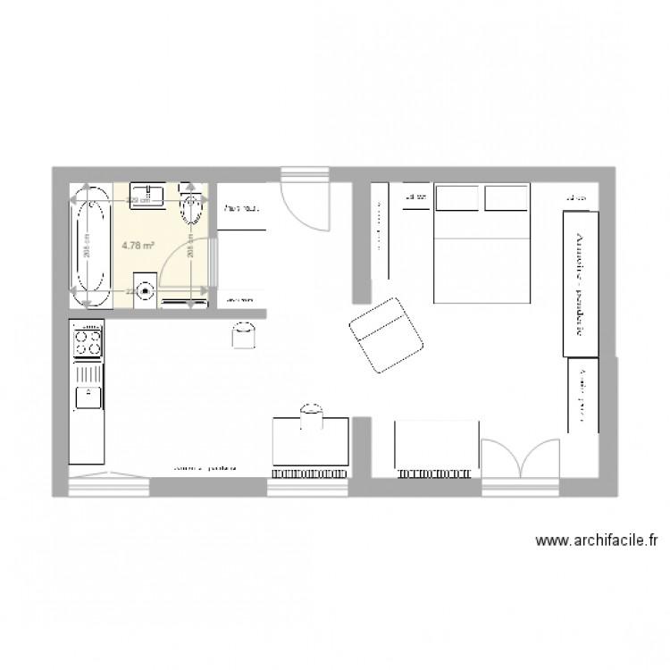 kehl plan 1 pi ce 5 m2 dessin par skyros. Black Bedroom Furniture Sets. Home Design Ideas