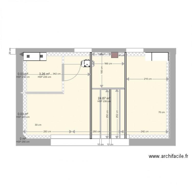 plancher escalier colima on 2 plan 6 pi ces 28 m2 dessin par ritzjp. Black Bedroom Furniture Sets. Home Design Ideas