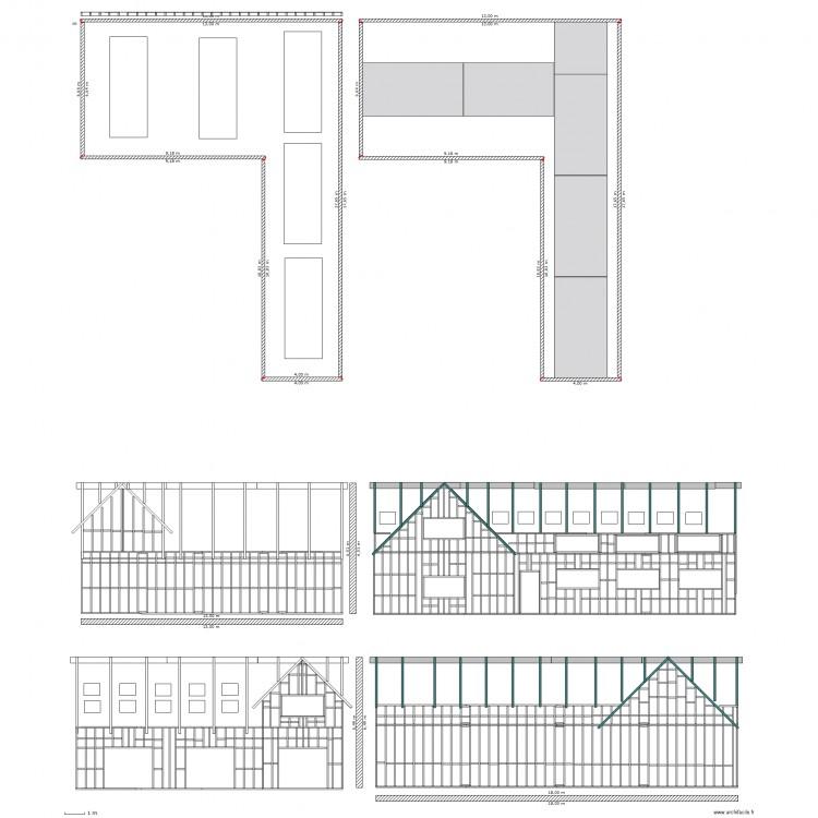 Plan Garage Ossature Bois Plan Dessiné Par Bentley6962