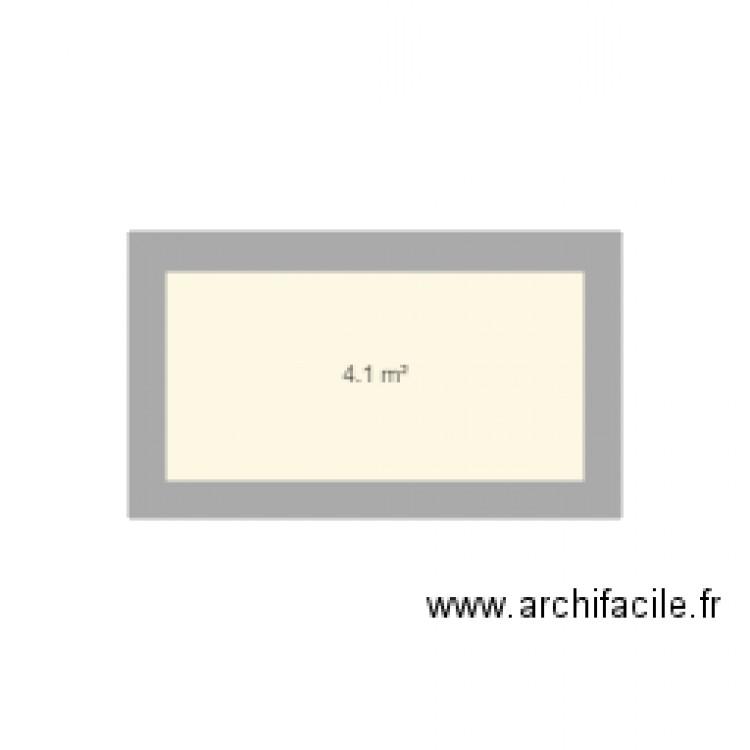 Plan de maison plan de 1 pi ce et 4 m2 - Separation de piece maison ...