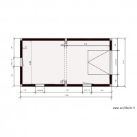 hangar plan implantion murs  menuiseries
