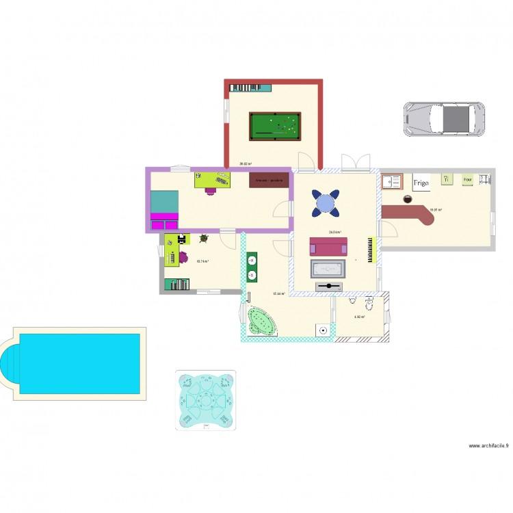 La maison de mes r ves plan 6 pi ces 114 m2 dessin par for Mes plans de maison