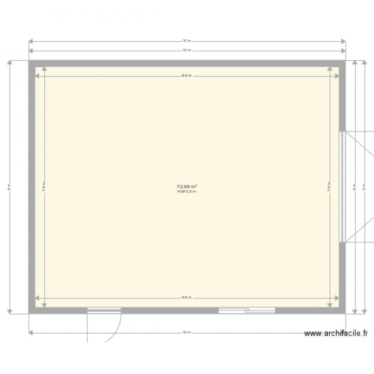 Plan hangar agricole 19fevrier 2018 plan 1 pi ce 73 m2 for Plan hangar agricole