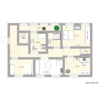 Plan appartement Me F 22