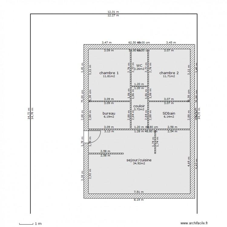 Plan maison 80m2 ventana blog for Logiciel plan maison 80m2