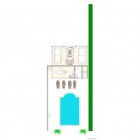 Plan maison et appartement de 3 pi ces de 49 53 m2 for Piscine 75011