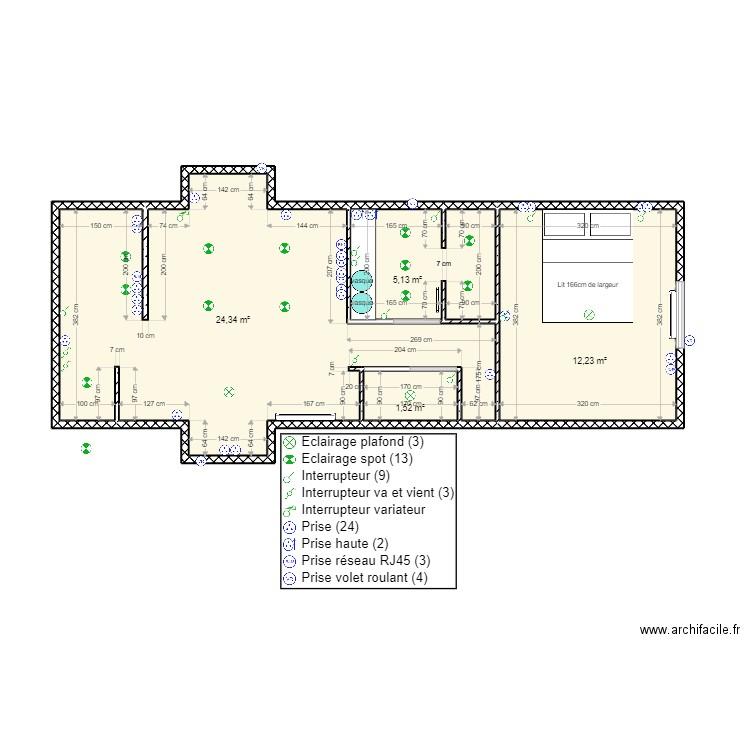 etage maison st l ger avec escalier coin salon 2 plan 5. Black Bedroom Furniture Sets. Home Design Ideas