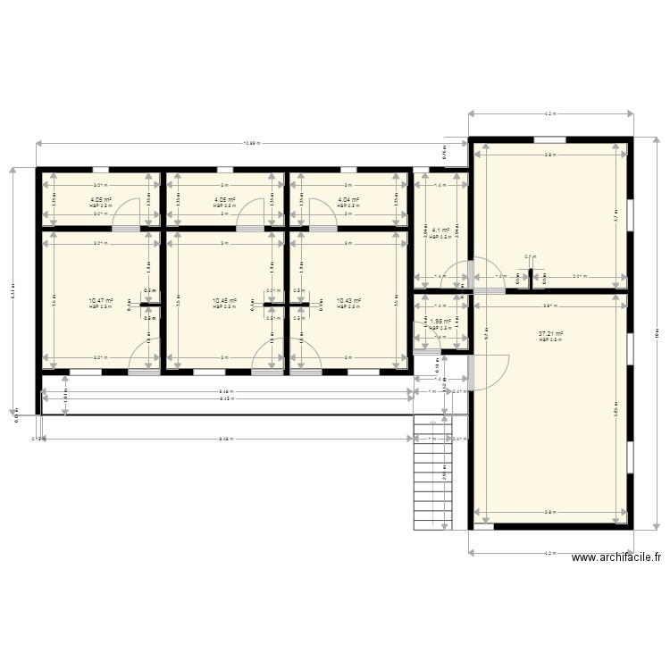 ma maison de r ve plan 9 pi ces 87 m2 dessin par salutaireg. Black Bedroom Furniture Sets. Home Design Ideas