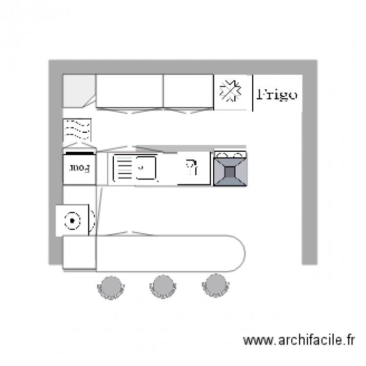 Ma cuisine plan dessin par chylaemar for Je dessine ma cuisine