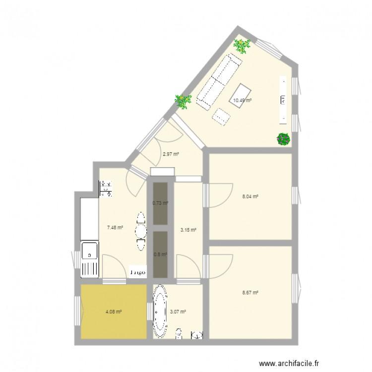 Ma maison plan 10 pi ces 49 m2 dessin par imensaidi for Dessine ma maison gratuitement