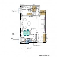 Plan projet 3 appartement MOLINARO