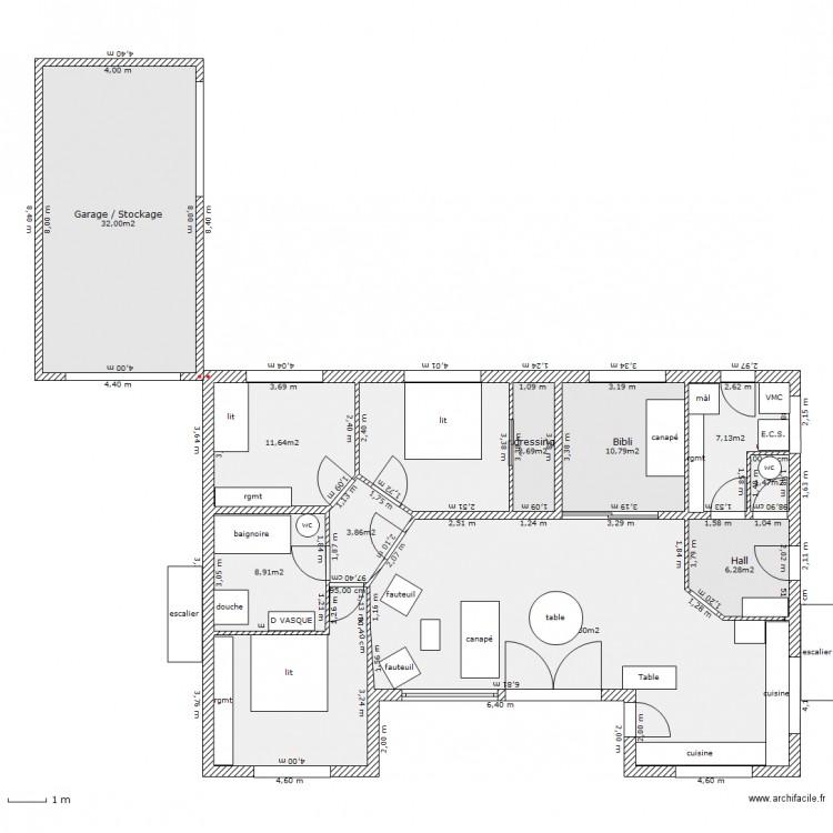 2011 04 16 plan cormeilles rdc plan 12 pi ces 162 m2 for 162 plan