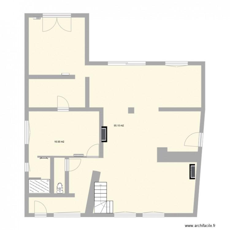 plan de maison 2 pieces - maison 2 plan 2 pi ces 112 m2 dessin par archistef59