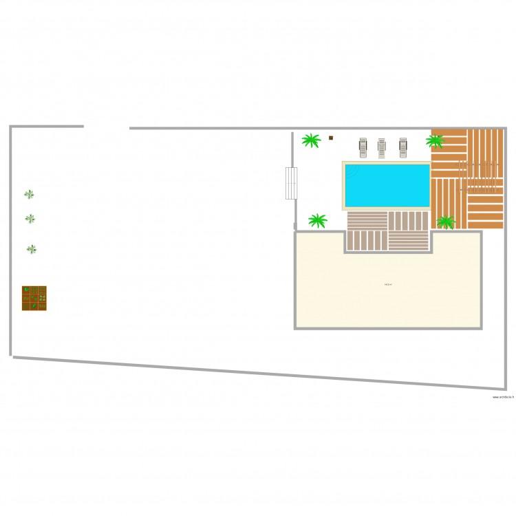 Maison plan 1 pi ce 141 m2 dessin par nani13 - Plan de maison 2 pieces ...