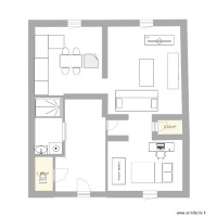 PLAN 2 chambres appartement