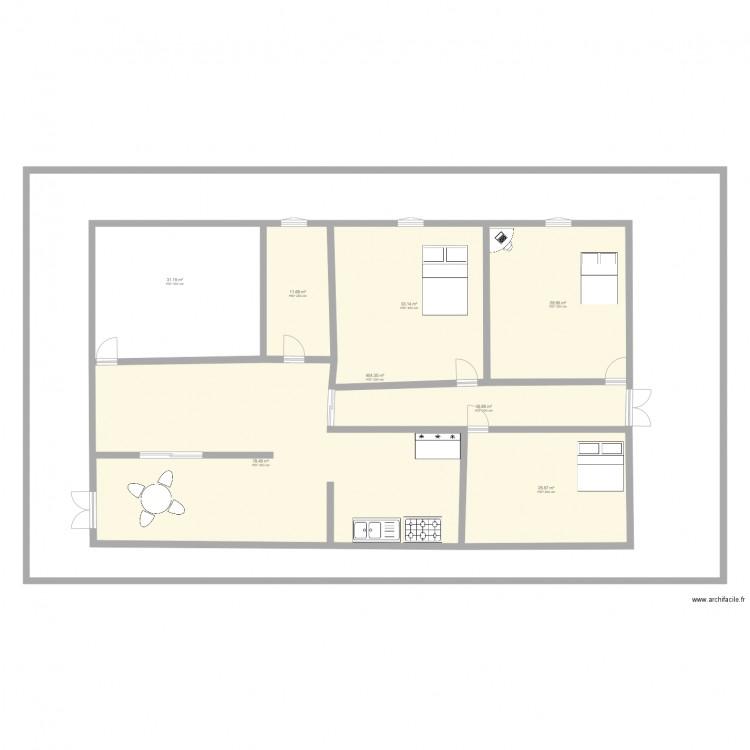 Ma maison plan 8 pi ces 631 m2 dessin par yvaneb for Dessine ma maison gratuitement
