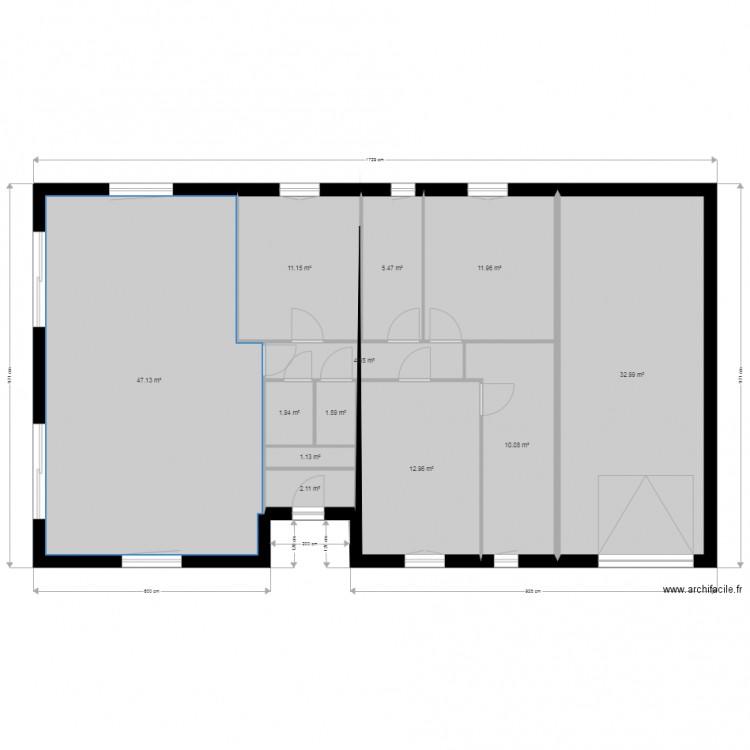 Ma maison plan 12 pi ces 143 m2 dessin par blanblan61 for Dessine ma maison gratuitement