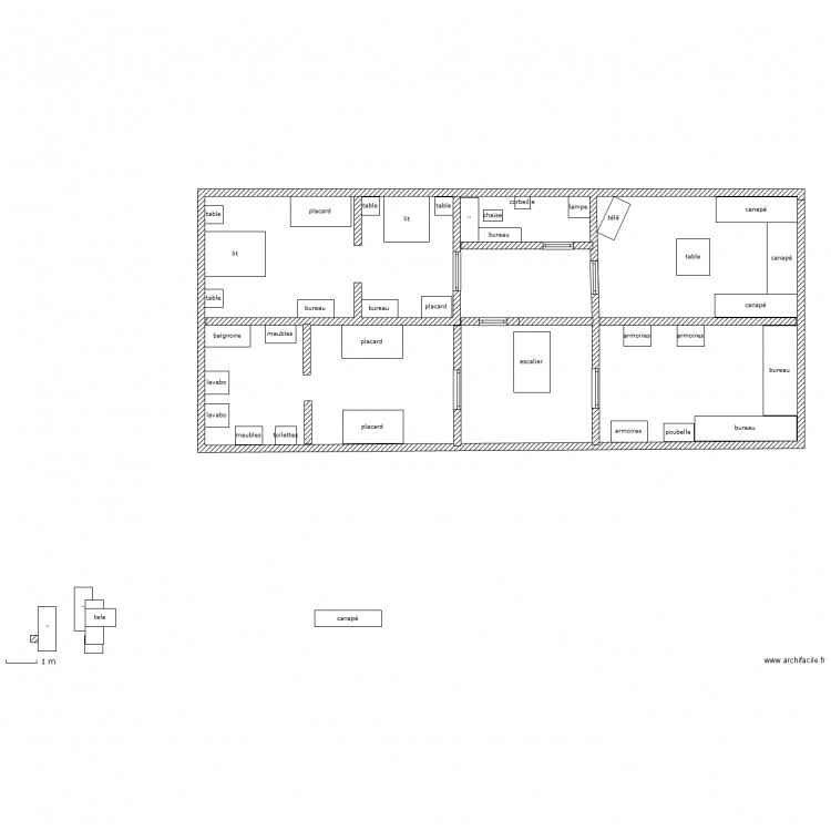 Ma maison cool etage plan dessin par juliemantel for Dessine ma maison gratuitement