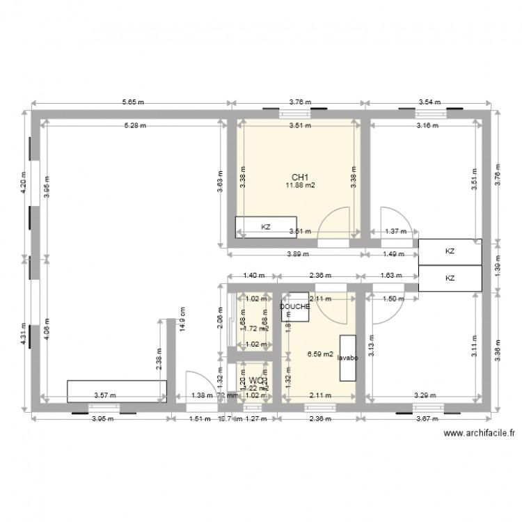 Maison Plein Pied 100m2 Plan | Ventana Blog