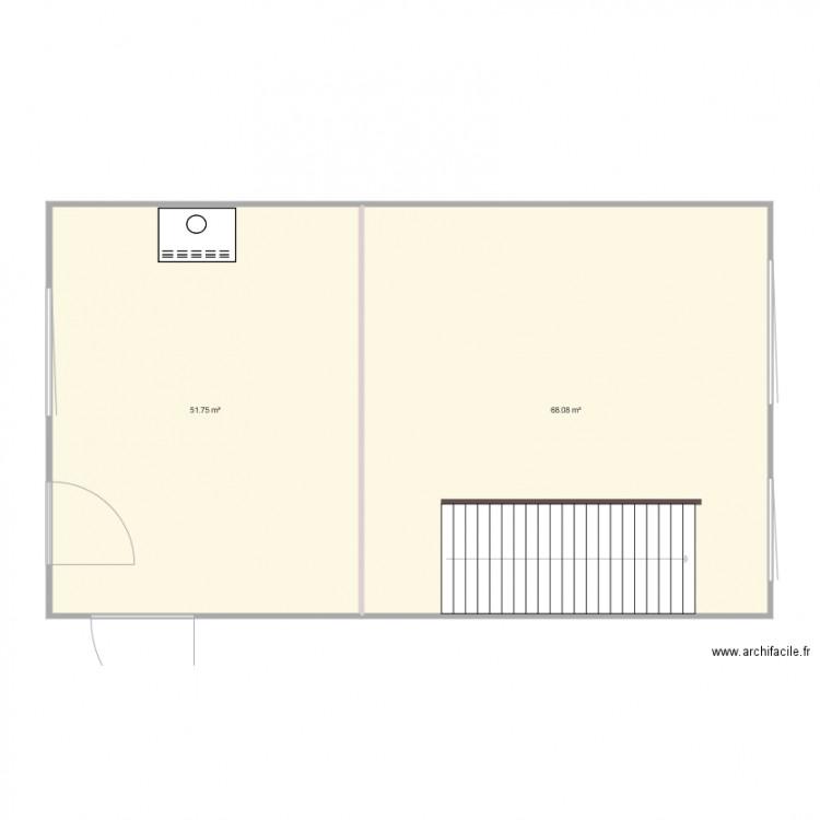 Salon plan 2 pi ces 120 m2 dessin par slighus - Plan appartement 120 m2 ...