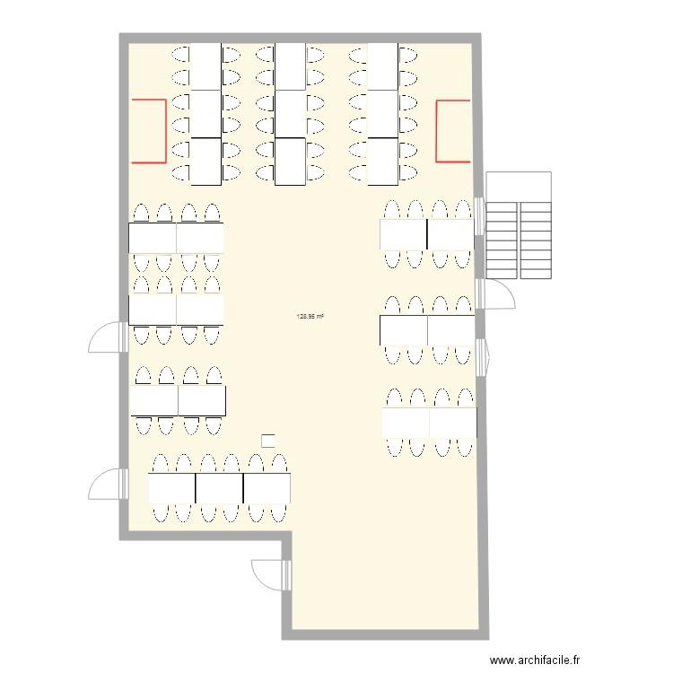 Plan table mariage ddv3 plan 1 pi ce 129 m2 dessin par claudius88 - Plan de table mariage en ligne ...
