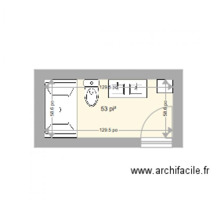 salle de bain haut plan 1 pi ce 5 m2 dessin par annamatata. Black Bedroom Furniture Sets. Home Design Ideas