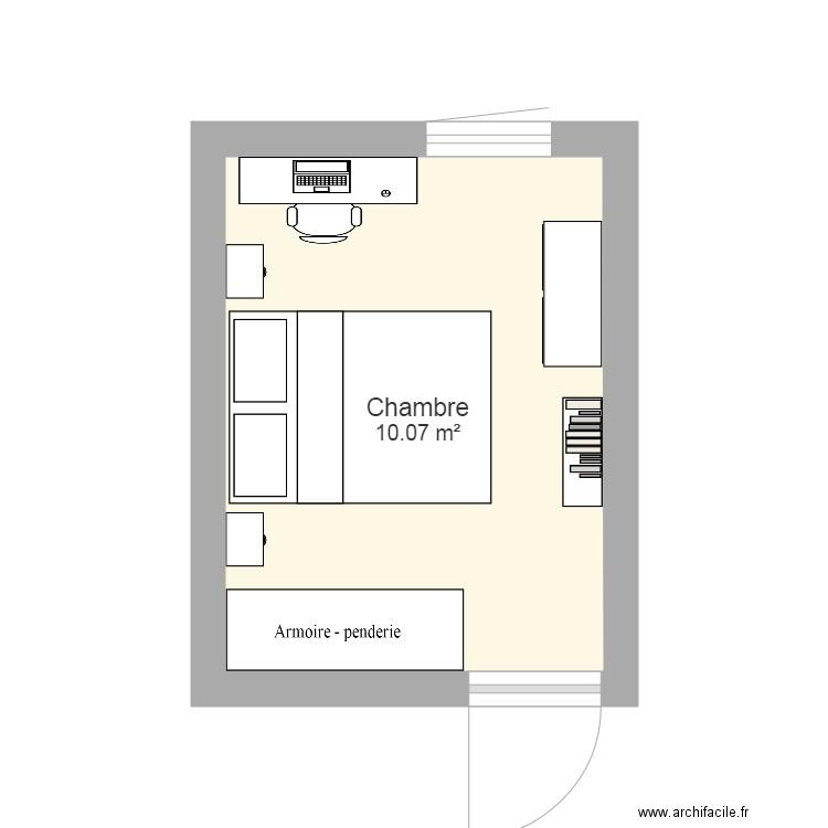 plan chambre 100 - Plan 100 pièce 1000 m10 dessiné par gildas10