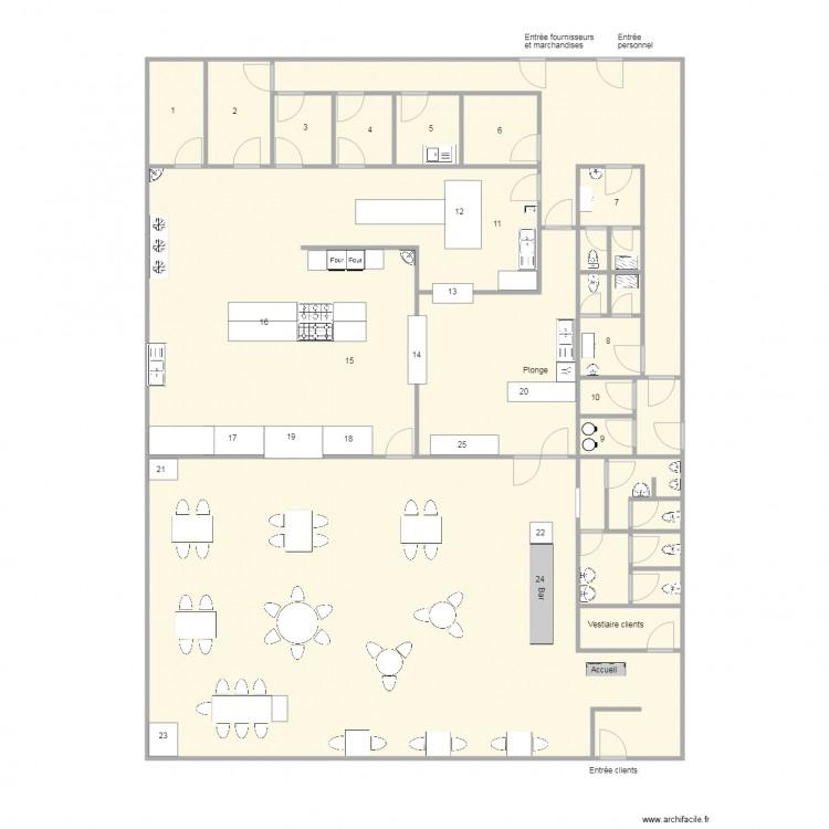 plan tfe sans les fl ches plan 26 pi ces 318 m2 dessin par edisatis. Black Bedroom Furniture Sets. Home Design Ideas