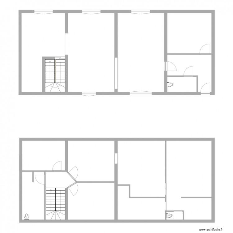 Maison plan 16 pi ces 207 m2 dessin par josh81 for Taille moyenne maison