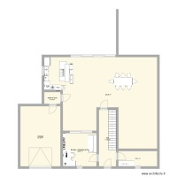 Plan Maison RDC modif travaux