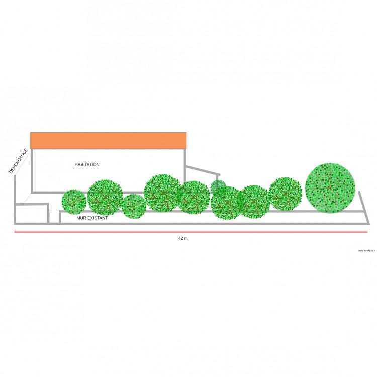 plan de coupe avant mur anti bruit plan 4 pi ces 151 m2. Black Bedroom Furniture Sets. Home Design Ideas