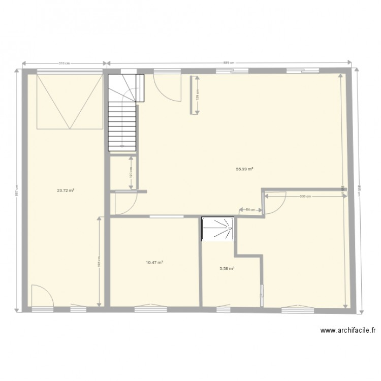 essai de dessin le rheu a plan 4 pi ces 96 m2 dessin par sap35. Black Bedroom Furniture Sets. Home Design Ideas