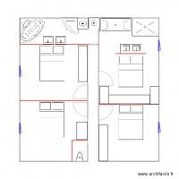 Plan de chambre avec archifacile - Planning femme de chambre ...