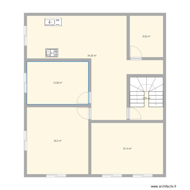 Maison R2 Plan 5 Pieces 71 M2 Dessine Par Romero2508 8