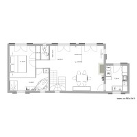 maison grun bordas 120 m2 projection avec mofications
