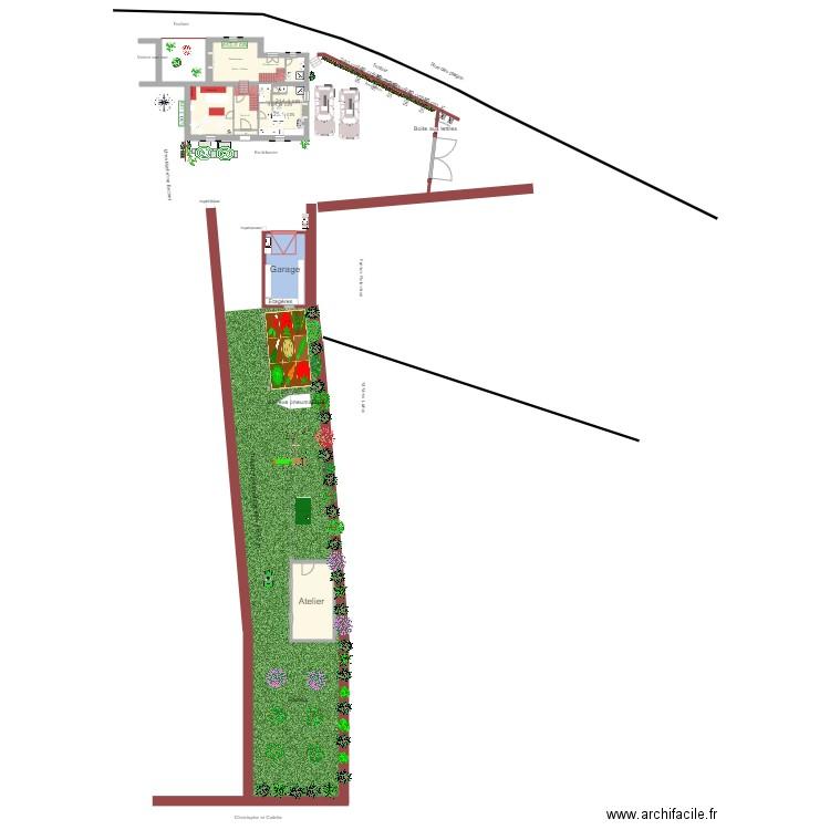 Plan Situation Maison Garage Et Terrain Tr 233 Beurden Plan