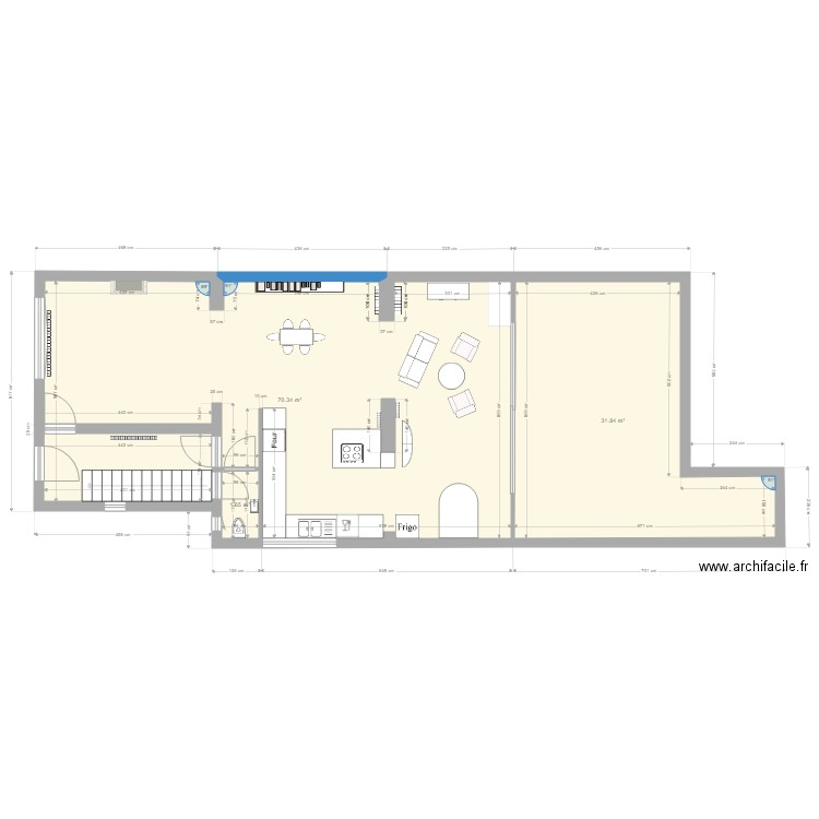 plan de maison ho