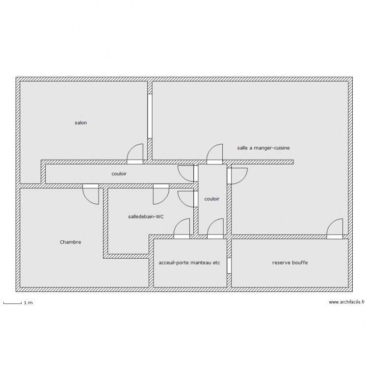 Plan de pices et m with plan de maison 200m2 for Plan maison 200m2