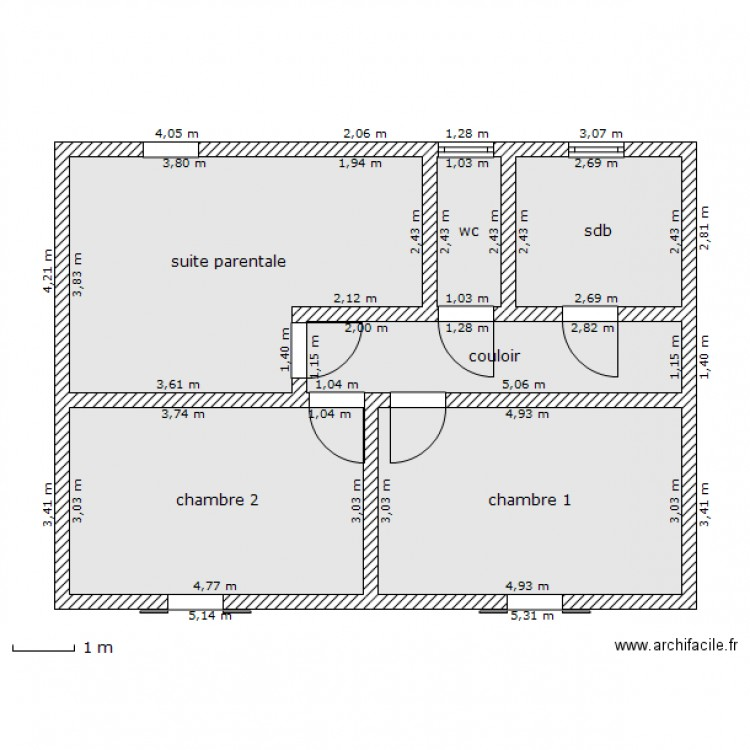 Plan Maison Pieces - Plan de maison 2 pieces