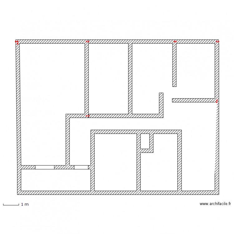 Maison plan dessin par finsk for Taille moyenne maison
