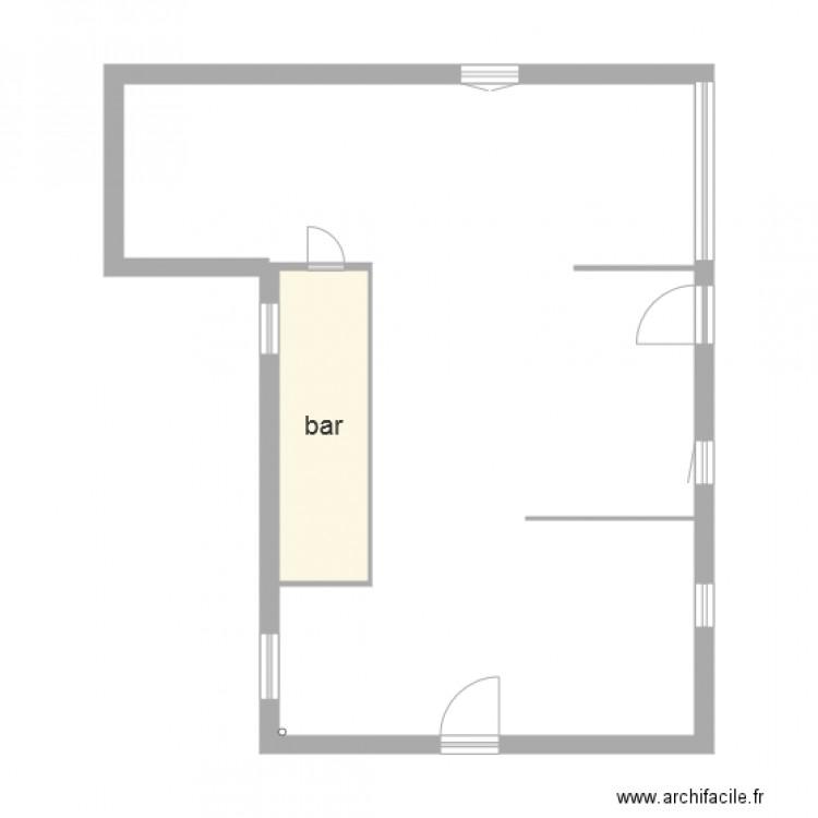 tabac plan 1 pi ce 5 m2 dessin par tompouce40. Black Bedroom Furniture Sets. Home Design Ideas