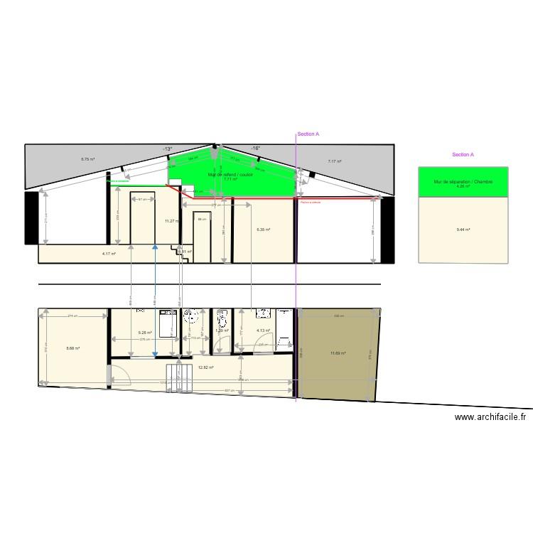 181106 maison zone sanitaire v2 plan 24 pi ces 162 m2 for 162 plan