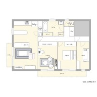 appartement T2 bis initial